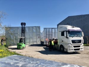 Doosan cases transport